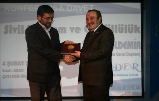 Sivil Toplum ve Gönüllülük Konferansımız gerçekleştirildi…