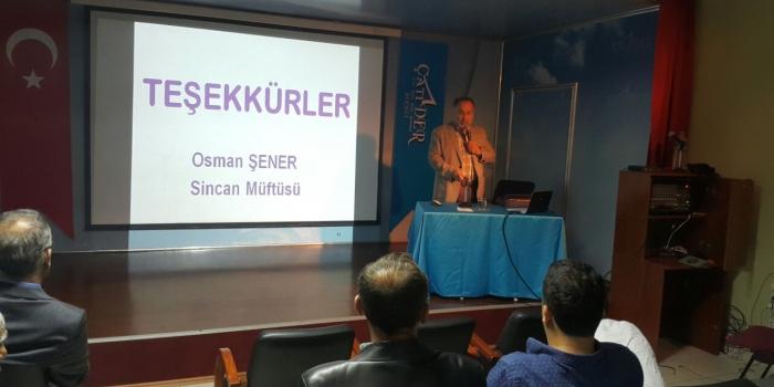 Hayat Dersleri Sincan Müftümüz Osman ŞENER  Konu: BİSMİLLAH