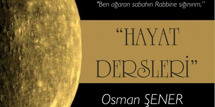 Sincan Müftümüz Osman ŞENER, FELAK Suresi Tefsiri