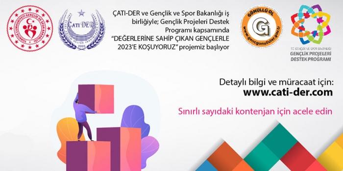 """""""DEĞERLERİNE SAHİP ÇIKAN GENÇLERLE 2023'E KOŞUYORUZ"""" Ön Kayıt Başvurusu"""